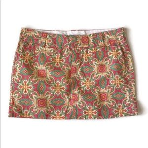 Old Navy Abstract Geometric Print Mini Skirt 10